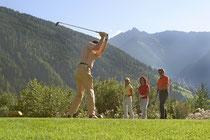 Bild: Golfen in Mittersill