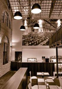Das »Kesselhaus« steht für ein Gastronomie-Erlebnis neuer Dimension
