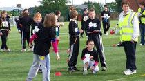 Concentration et esprit d'équipe pour les enfants qui ont joué au Prim'Ball
