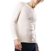 lange Biobaumwolle Unterhemd Unterhose Unterwäsche