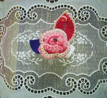 Brooch      Pink Rose