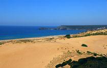 Dunes in Torre dei Corsari - Costa Verde - Sardinia