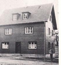 das fertige Schützenhaus 1938