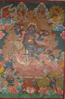 Palden Lhamo Thanka, Tibet, 19th Century