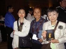 5年前LAのMikoさんの画廊で個展を開いたときの写真