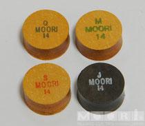 左上から時計回りにMoori ⅣのQ、M、Jewel、Moori ⅣのS