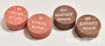 左からRuby、Coral、Garnet(MH、MS)