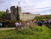 Nordwestturm der Fleckenmauer
