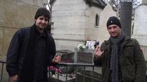 Rafael e Ricardo Nardi Cemitério Perè-Lachaise em Paris