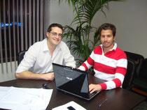 Samuel González y David  Alvarado