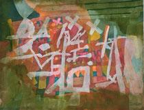"""Heinz Trökes """"Tropical"""", Aquarell 1960"""