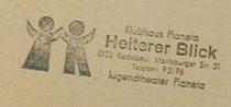 Planeta-Stempel in alten Textbüchern