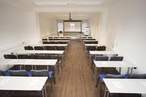 Funktionale, helle Seminarräume