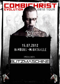 BLITZMASCHINE Combichrist Hamburg!