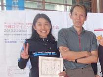 名護ロゲイニング大会の村越と田島