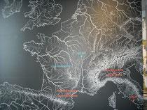 Situation géographique d'Alésia