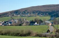 Une vue du village d'Aranc