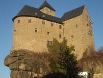 Burg Falkenberg langjähriger Sitz der Familie von Schulenburg, ehemals Botschafter in Moskau, jetzt Eigentum des Marktes Falkenberg
