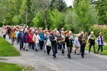 Jubiläumswanderung vom 16.05.2012