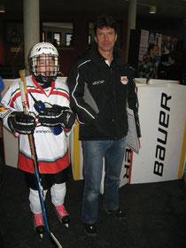 Matthias Zern und Coach Barthi Zauner