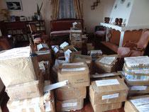 Stockage des livres chez Monsieur Christophe