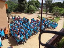 Les élèves du Lycée de Mirasoa