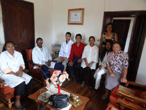 Rosalie et des Professeurs du Lycée Mirasoa