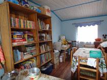 La Bibliothèque de l'école d'Ambodivoanjo