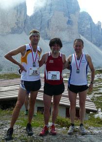Hansjörg, Martin und Daniele