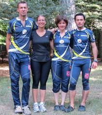 Hansjörg, Tina, Marlene und Andy