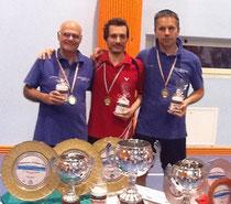 Elmar 2., Mauro 1. und Stefan 3.