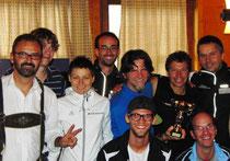 erfolgreiche Südtiroler Mannschaft