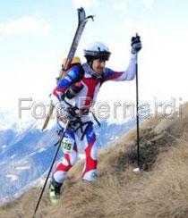 """Mike beim Rennen """"Val Rendano"""""""