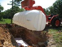 Buried Tank