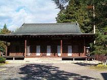 高山城二の丸にある現在の照蓮寺