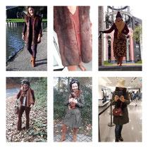 Outfits van de afgelopen dagen.