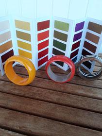 De juiste kleur armbanden