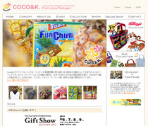 COCO&K様ホームページ制作(Jimdo)