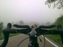 Flach auf dem Rad ;)
