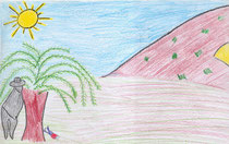 Dibujo de Ana Mena 12 años
