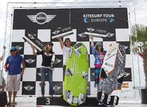 KTE Podersdorf Course Race Women: 3. Nuria Goma (ESP), 1. Alice Brunacci (ITA), 2. Christine Bönniger (GER)