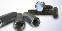 Muttern, V2A, Hutmuttern, Schrauben DIN917, DIN1587