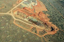 Kalgold mine - (c) Harmony Gold