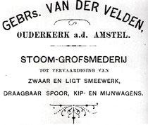Uit: Altijd werk in Ouderkerk - 120 jaar van der Velden in Ouderkerk aan de Amstel, 2010 - W. van der Velden