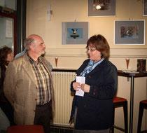 links Reiner Dell, rechts Ulrike Schneider