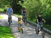 Radfahren im Bayerischen Wald, Foto TVO, Fotograf Foto Michael Koerner