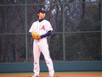 草野球チームアロハ 長谷川投手