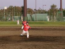 日高投手 粘りの投球