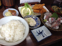 千葉県・サスケ食堂の「サスケ定食」