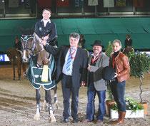 Mit Pikeur Cleveland gewann Philipp Schober das W.Seineke-Partner Pferd-Cup-Finale - Foto bb